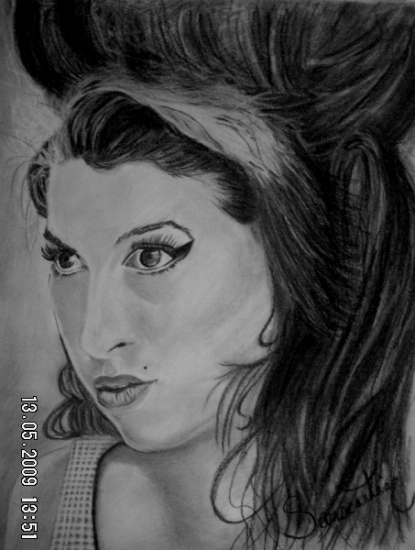 Amy Winehouse by Li_Sa